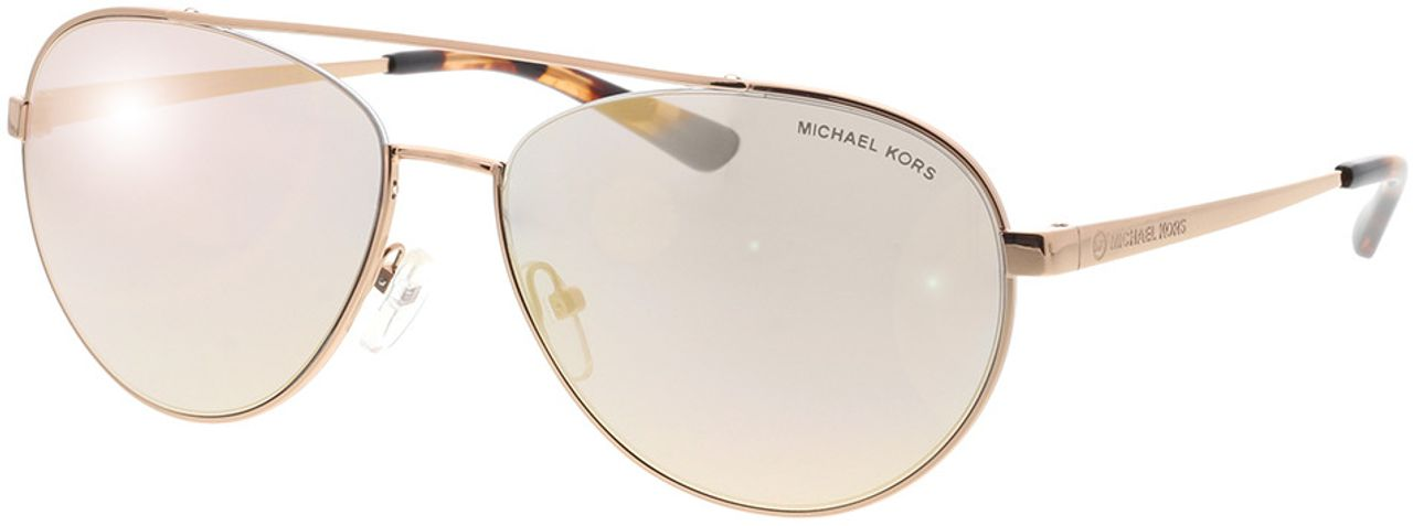 Picture of glasses model Michael Kors MK1071 11084Z 59-16 in angle 330
