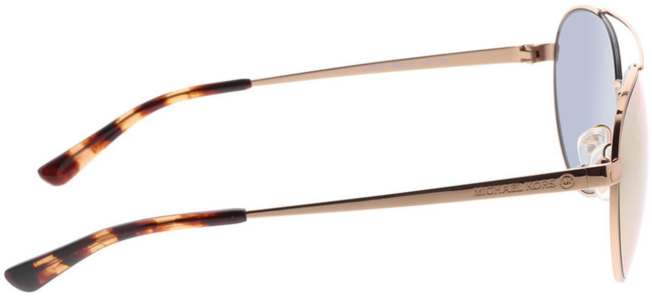 Picture of glasses model Michael Kors MK1071 11084Z 59-16 in angle 90
