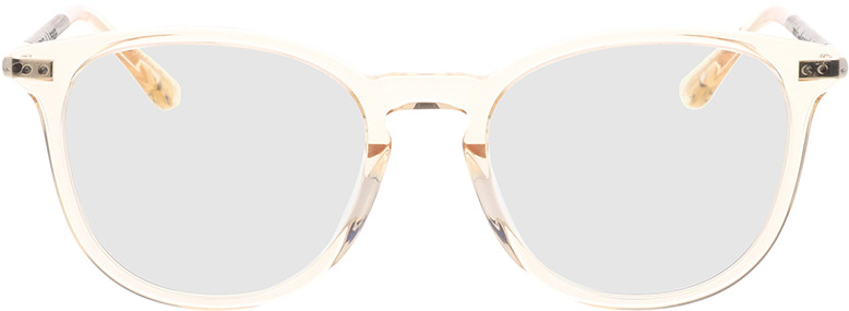 Picture of glasses model Wood Fellas Optical Pfersee curled/crystal gold 50-19 in angle 0
