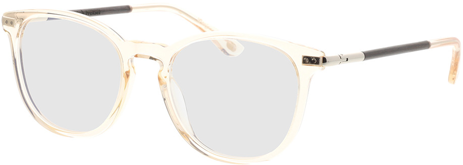 Picture of glasses model Wood Fellas Optical Pfersee curled/crystal gold 50-19 in angle 330