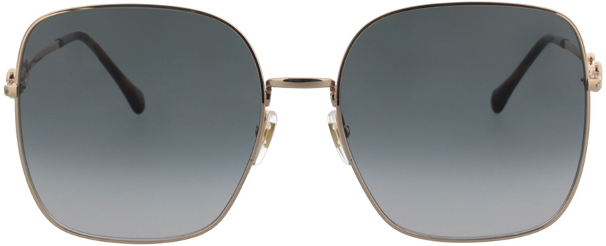 Picture of glasses model Gucci GG0879S-001 61-18 in angle 0