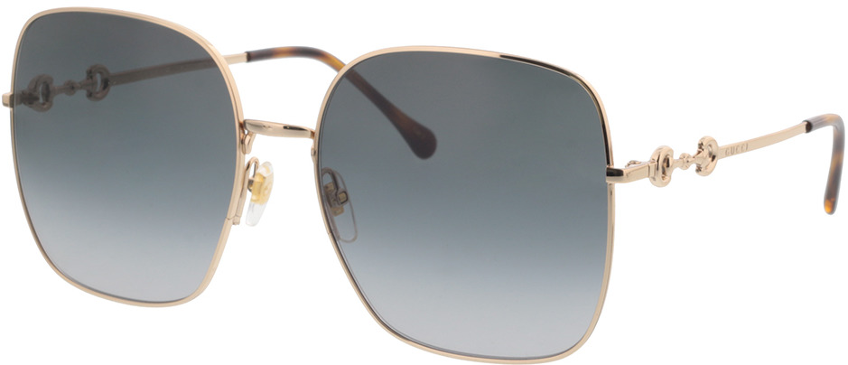 Picture of glasses model Gucci GG0879S-001 61-18 in angle 330
