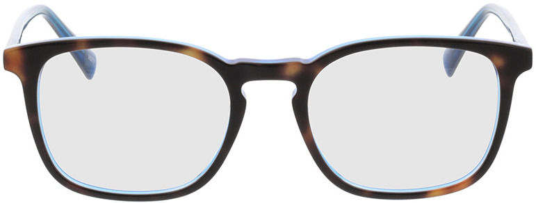 Picture of glasses model Mateo-braun-meliert/blau in angle 0