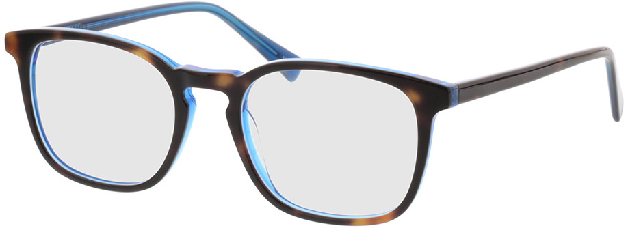 Picture of glasses model Mateo-braun-meliert/blau in angle 330