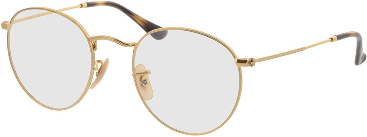 Picture of glasses model Ray-Ban Round Metal RX3447V 2500 50-21 in angle 330