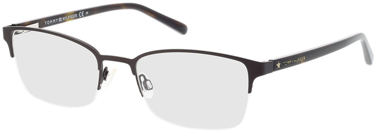 Picture of glasses model Tommy Hilfiger TH 1748 YZ4 52-19 in angle 330