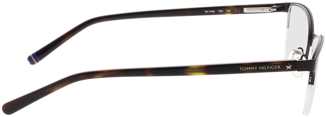 Picture of glasses model Tommy Hilfiger TH 1748 YZ4 52-19 in angle 90