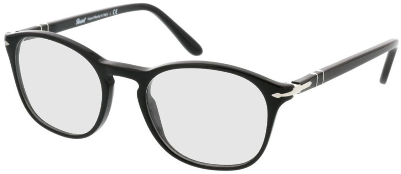 Picture of glasses model Persol PO3007V 95 50-19 in angle 330