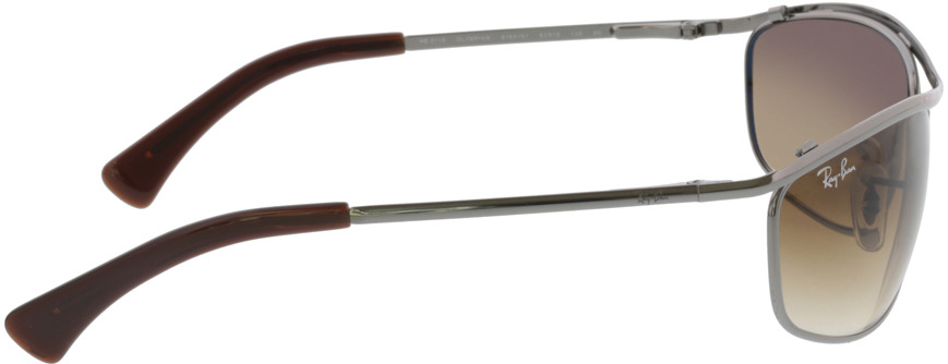 Picture of glasses model Ray-Ban Olympian RB3119 916451 62-19 in angle 90