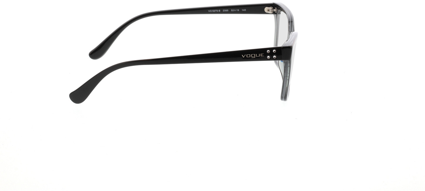 Picture of glasses model Vogue VO5275B 2385 52-19 in angle 90