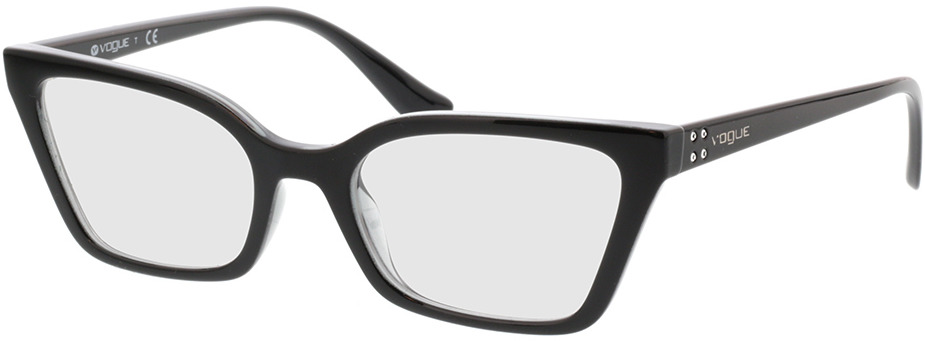 Picture of glasses model Vogue VO5275B 2385 52-19 in angle 330