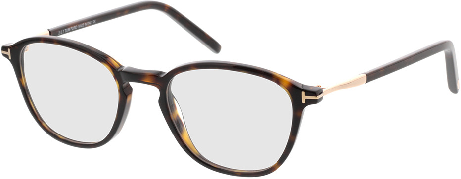 Picture of glasses model Tom Ford FT5397 052 49 19 in angle 330