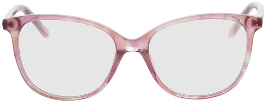 Picture of glasses model Alice-pink in angle 0