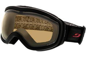 Skibrille Elara schwarz/strass L