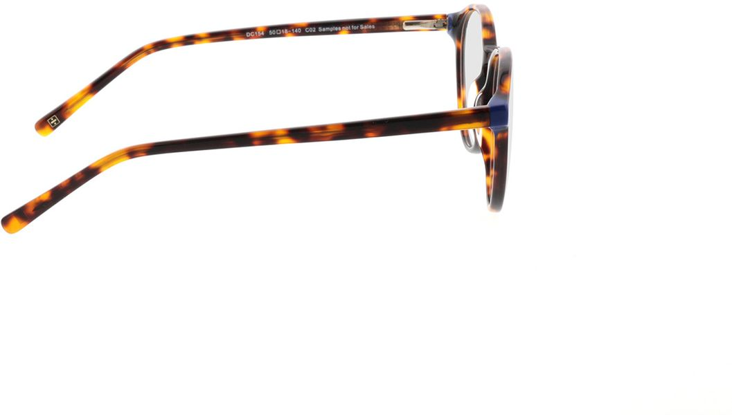 Picture of glasses model Quinto-braun-meliert in angle 90