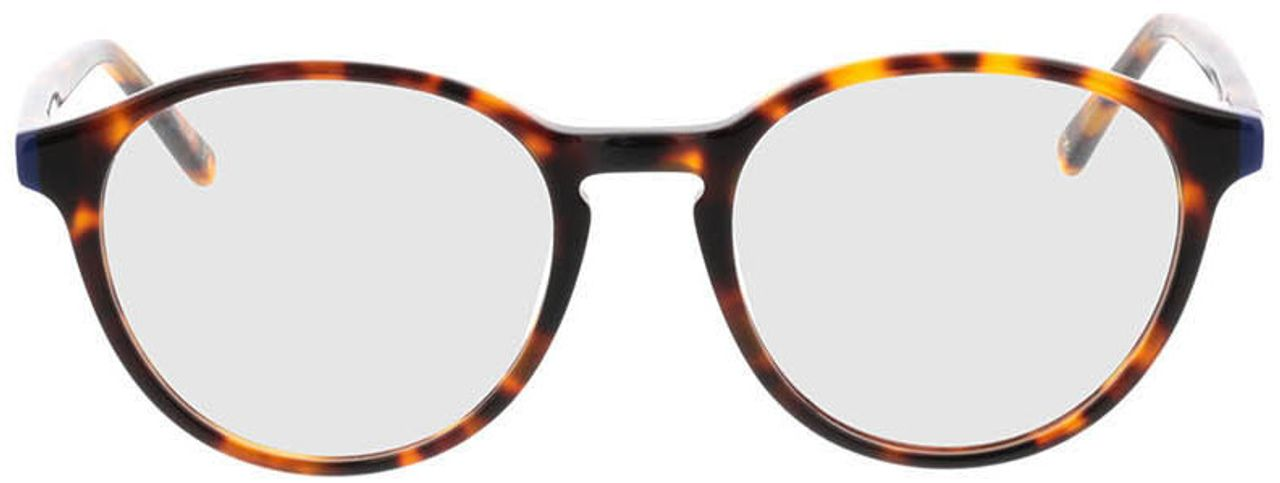 Picture of glasses model Quinto-braun-meliert in angle 0