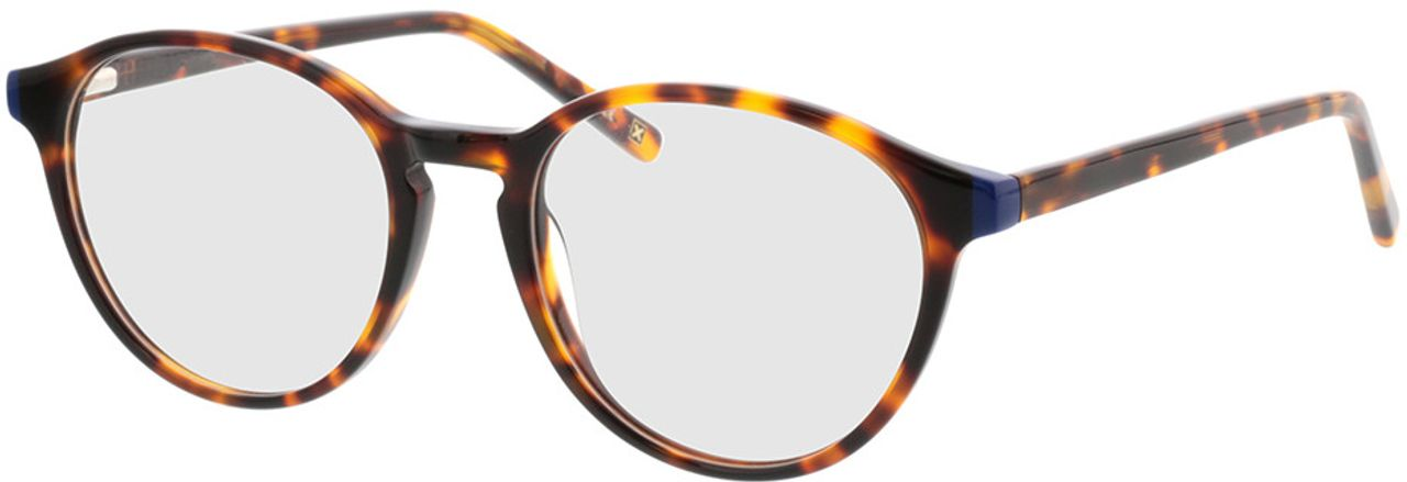 Picture of glasses model Quinto-braun-meliert in angle 330