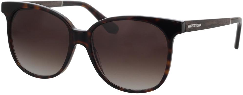 Picture of glasses model Wood Fellas Sunglasses Aspect black oak/havana 55-17 in angle 330