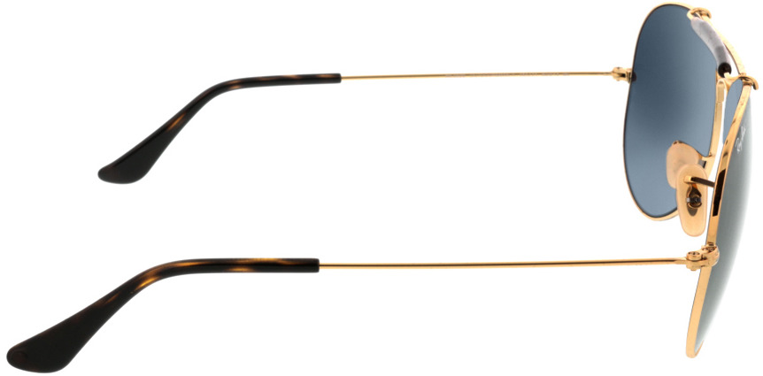 Picture of glasses model Ray-Ban Outdoorsman II RB3029 181/71 62-14 in angle 90