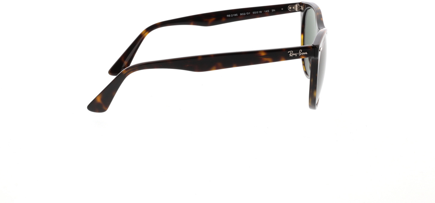 Picture of glasses model Ray-Ban RB2185 902/31 55-18 in angle 90