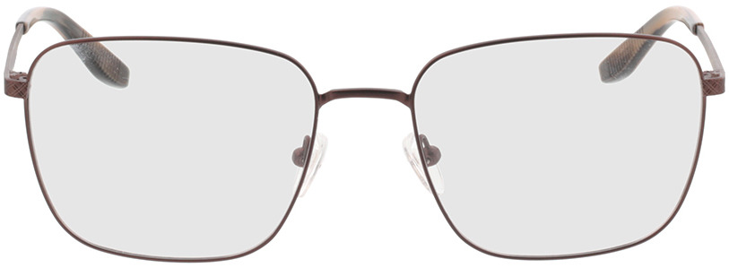 Picture of glasses model Helios-braun/braun schwarz horn in angle 0