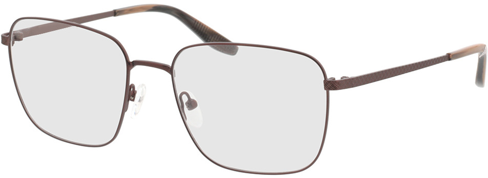 Picture of glasses model Helios-braun/braun schwarz horn in angle 330