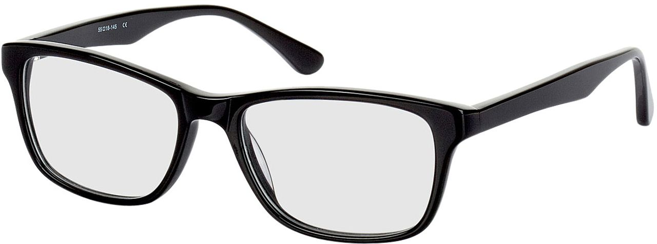 Picture of glasses model Recife-black in angle 330