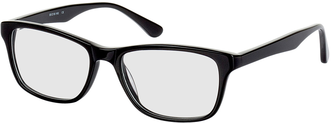 Picture of glasses model Recife black in angle 330