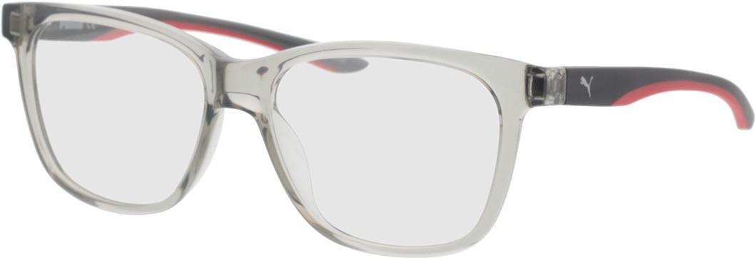 Picture of glasses model Puma PU0208O-007 57-16 in angle 330