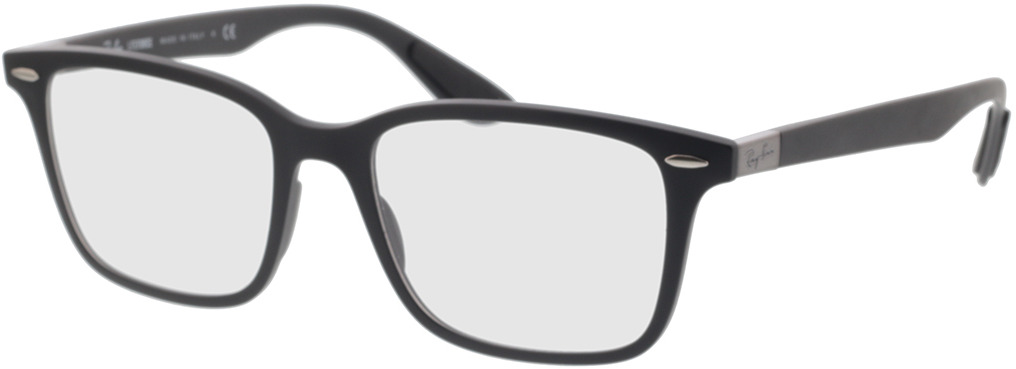 Picture of glasses model Ray-Ban RX7144 5204 53-18 in angle 330