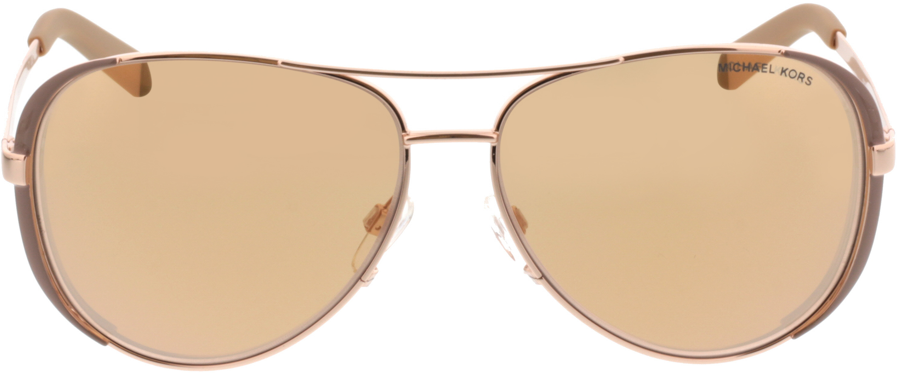 Picture of glasses model Michael Kors Chelsea MK5004 1017R1 59-13 in angle 0