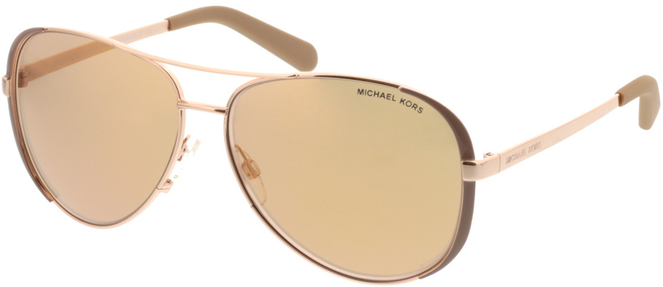 Picture of glasses model Michael Kors Chelsea MK5004 1017R1 59-13 in angle 330