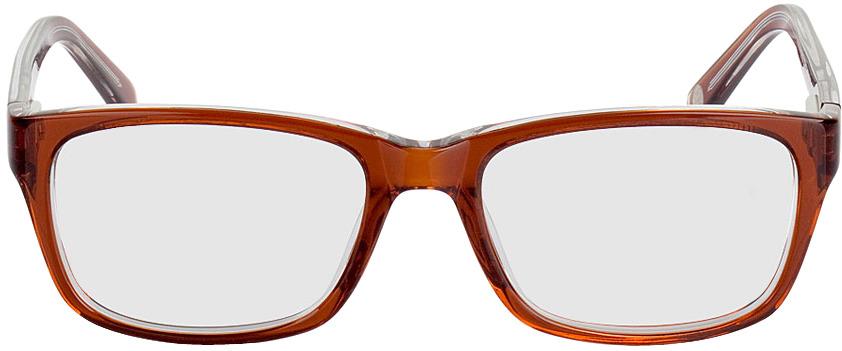 Picture of glasses model Fiorentino brown/transparent in angle 0