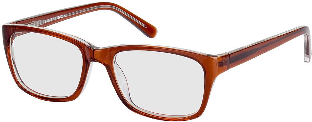 Picture of glasses model Fiorentino brown/transparent in angle 330