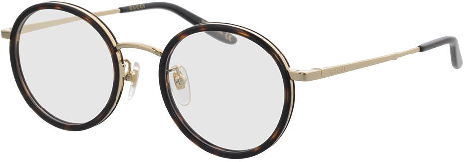 Picture of glasses model Gucci GG0679OA-002 48-21 in angle 330