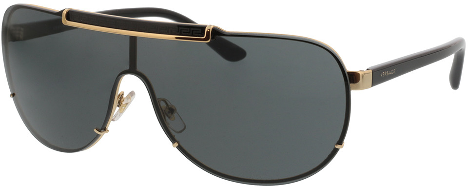 Picture of glasses model Versace VE 2140 100287 in angle 330