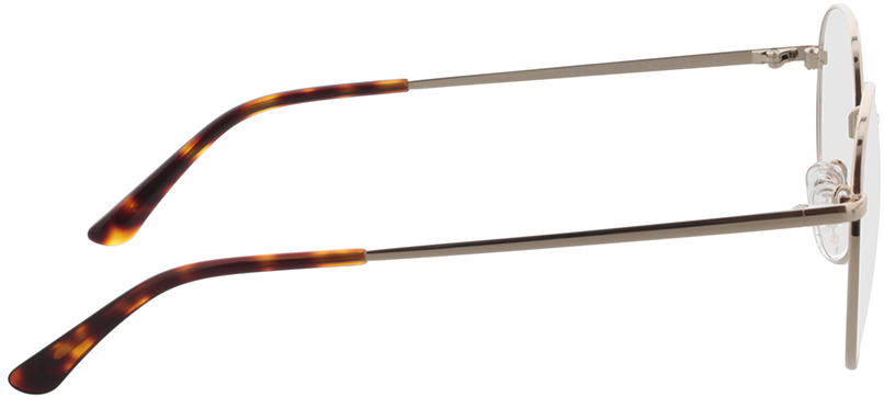 Picture of glasses model Mexia Goud in angle 90