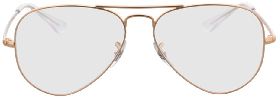 Picture of glasses model Ray-Ban RX6489 3094 55-14 in angle 0