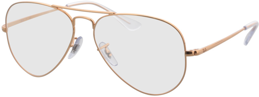 Picture of glasses model Ray-Ban RX6489 3094 55-14 in angle 330