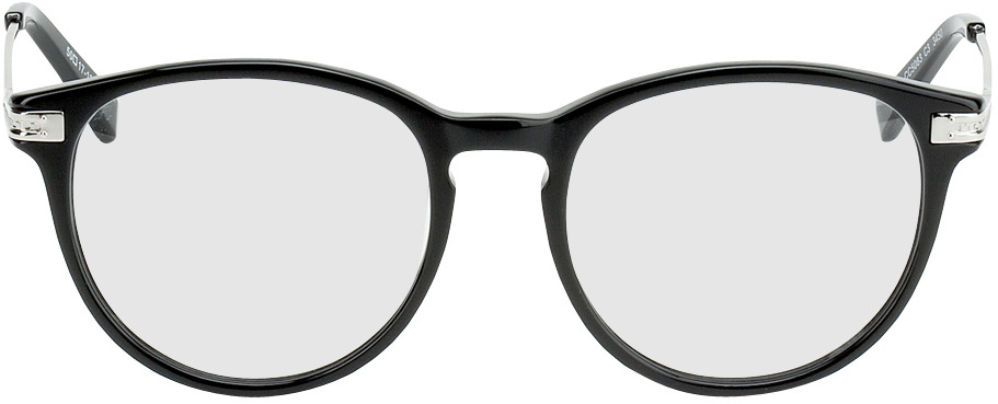 Picture of glasses model Elverum black/silver in angle 0