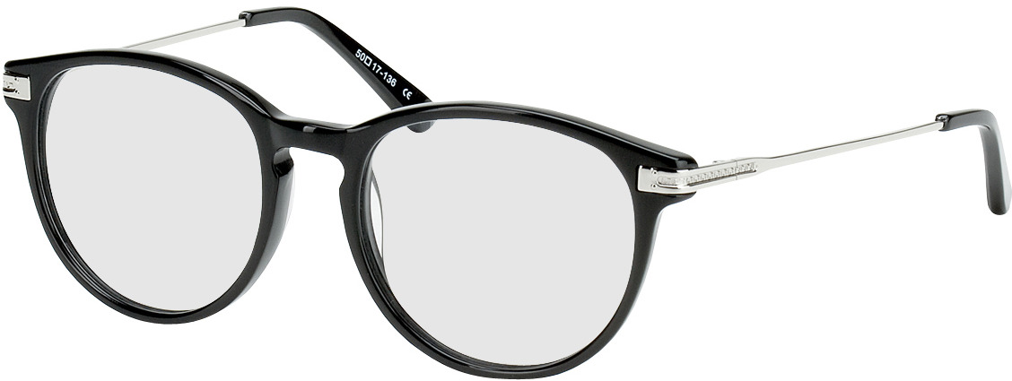 Picture of glasses model Elverum black/silver in angle 330