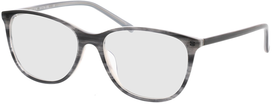 Picture of glasses model Lakeside-grau-meliert in angle 330