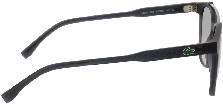 Picture of glasses model Lacoste L923S 024 54-18 in angle 90