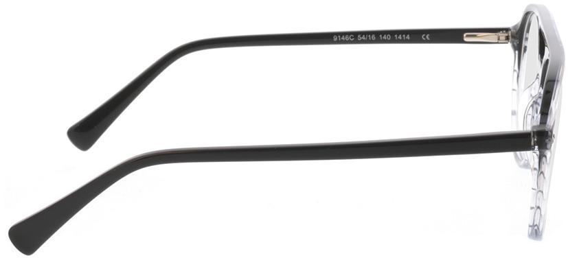 Picture of glasses model Enzo-grau-verlauf in angle 90