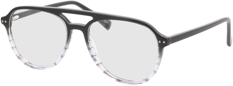 Picture of glasses model Enzo-grau-verlauf in angle 330