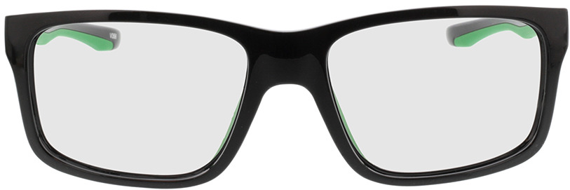 Picture of glasses model Beat Zwart/green in angle 0
