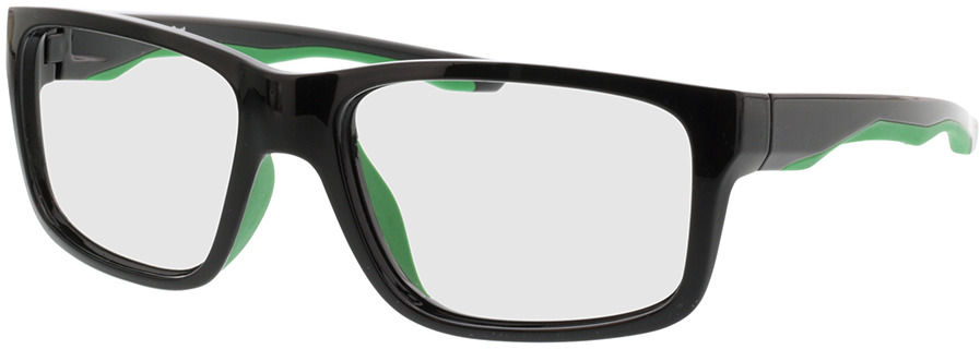 Picture of glasses model Beat Zwart/green in angle 330