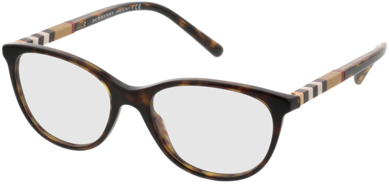 Picture of glasses model Burberry BE2205 3002 52-17 in angle 330