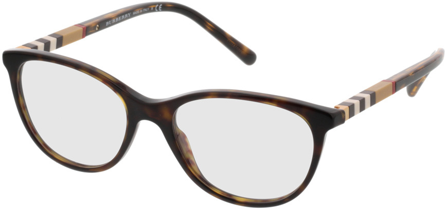 Picture of glasses model Burberry BE2205 3002 52 17 in angle 330