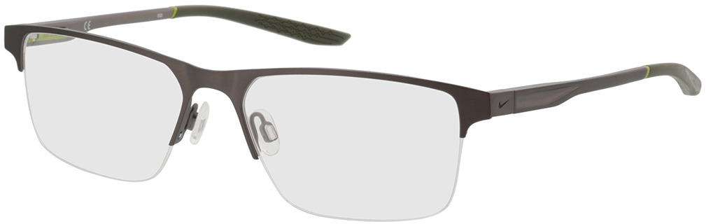 Picture of glasses model Nike NIKE 8045 076 57-17 in angle 330